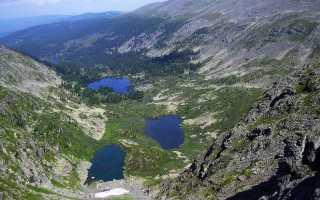 Ожерелье горного Алтая семь Каракольских озер