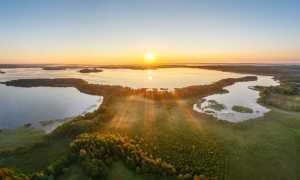 Приозерный санаторий на озере Нарочь