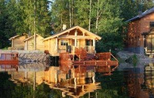 базы отдыха у озера
