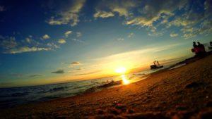 Закат на Горьковском море