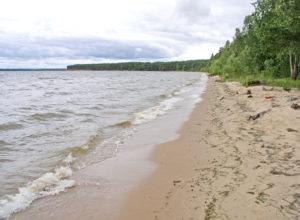 горьковское море песчанный берег