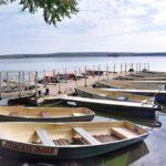 Озеро зеркальное Лодочная станция