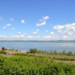 Берега озера Шира в Хакасии