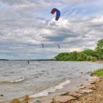 Пляж на Минском море
