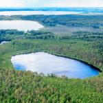 Браславские озера летом