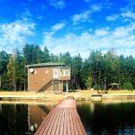 Копанское озеро в Ленинградской области