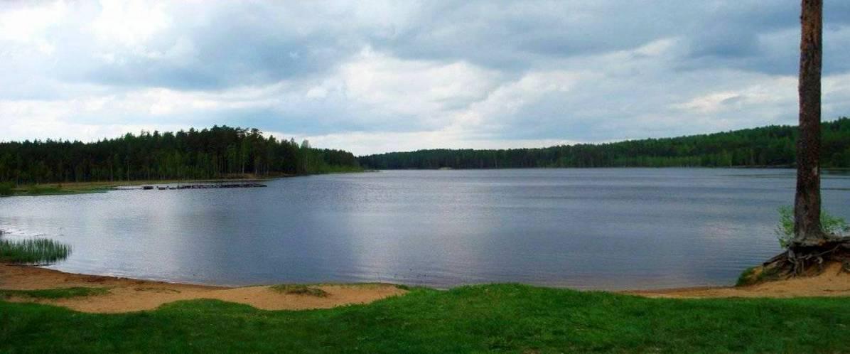 Пасторское озеро берег