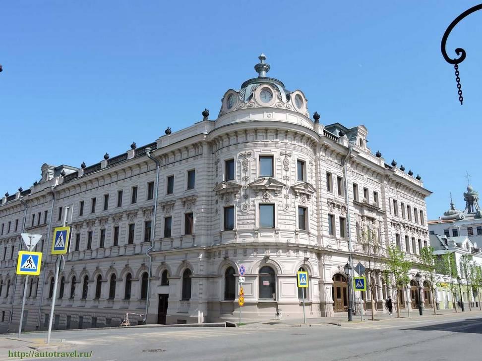 современный вид здания Александровский пассаж в Казани