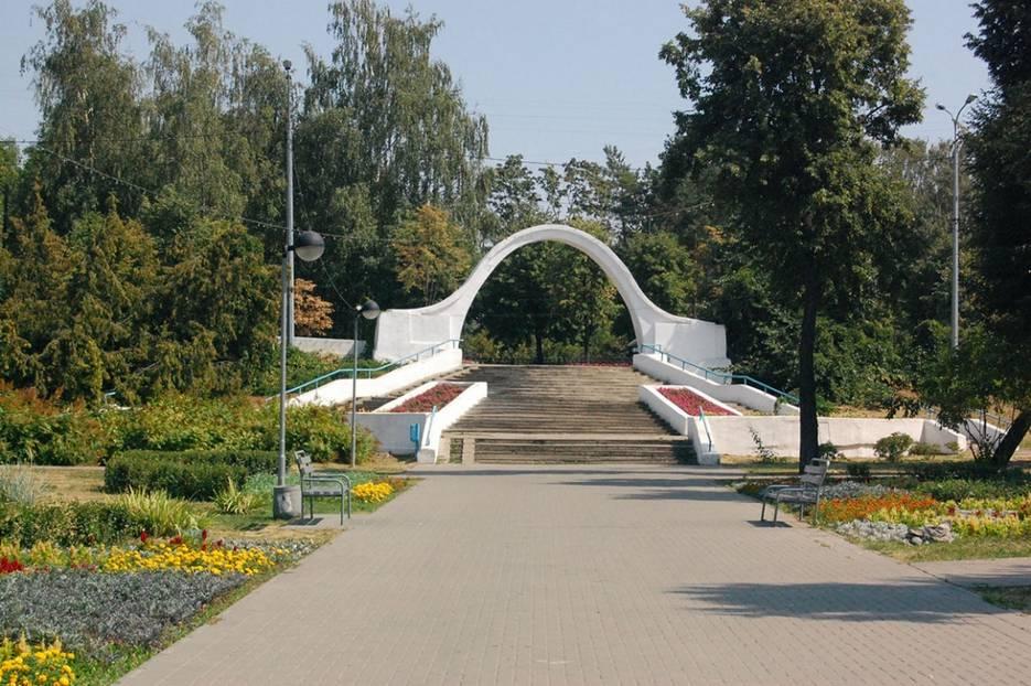 Арка влюблённых в Казани фотография
