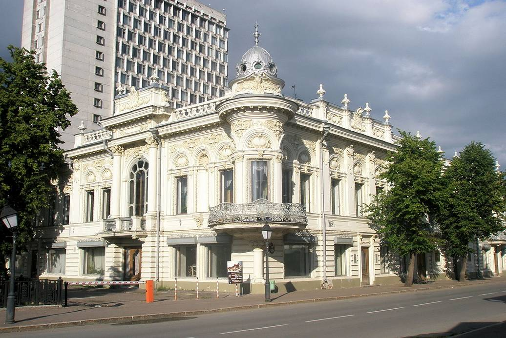 Вид дома Ушковой в Казани
