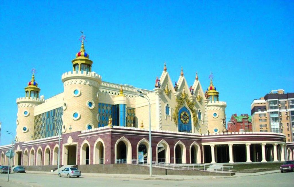 Здание театра кукол Экият в Казани