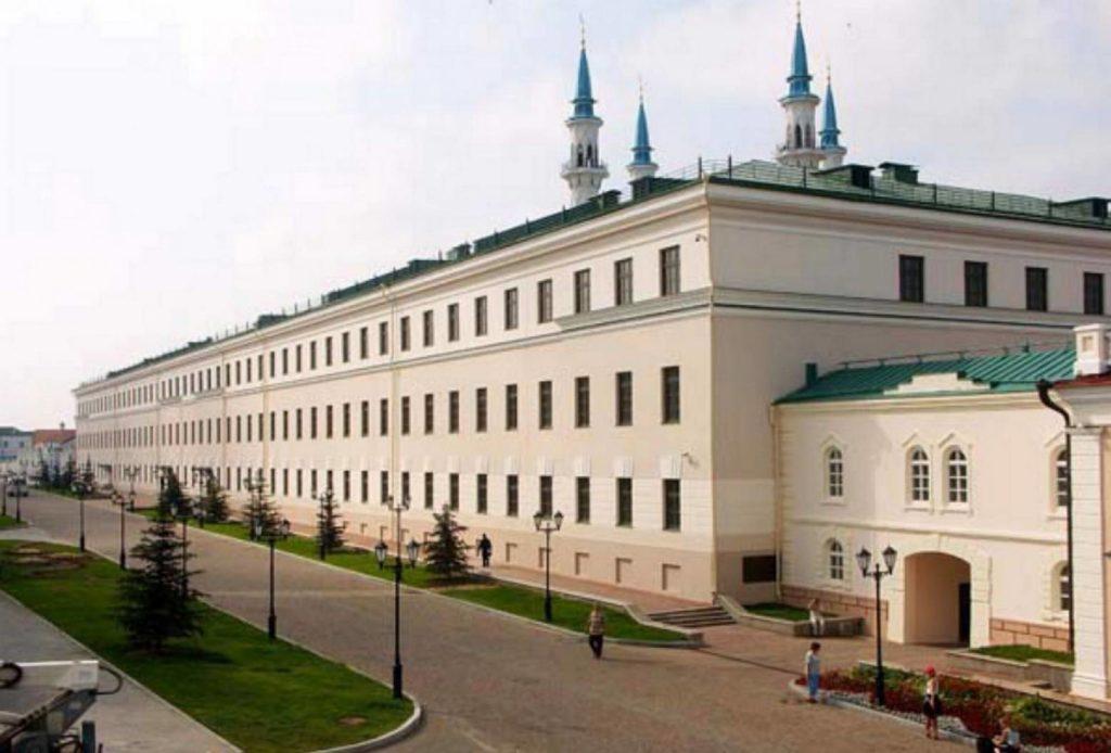 Здание музея естественной истории Татарстана