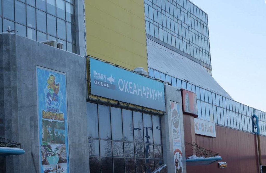 Фотография Казанского океанариума
