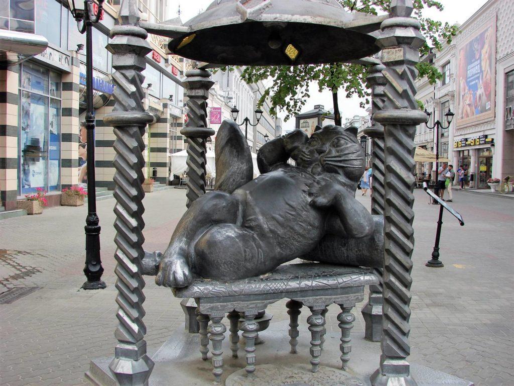 Фотка памятник Коту Казанскому