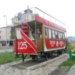 Фото памятника первому Казанскому трамваю
