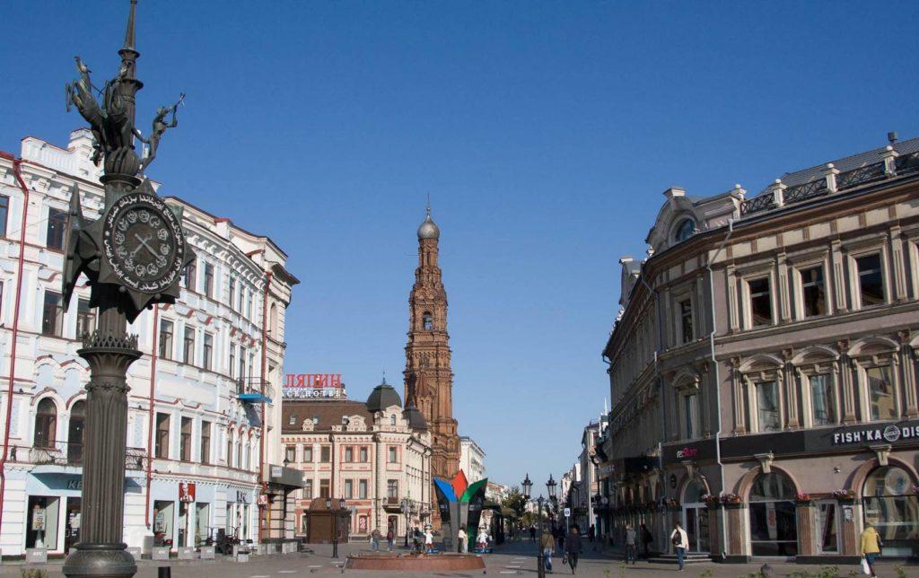 Вид на площадь Тукая в Казани