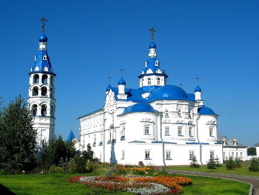 Вид Свято-Успенского Зилантова монастыря