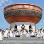 Вид на центральный вход центра семьи «Казан»