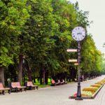Фотография центрального парка культуры Горького в Казани
