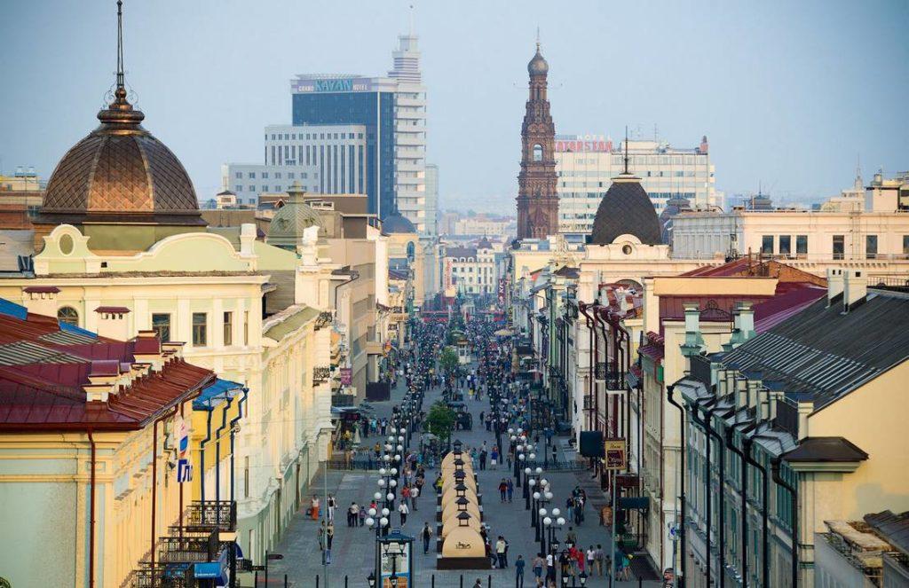 Фотография улицы Баумана в городе Казань