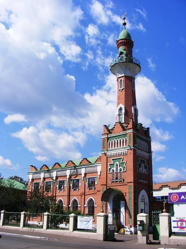 Вид на Закабанную мечеть